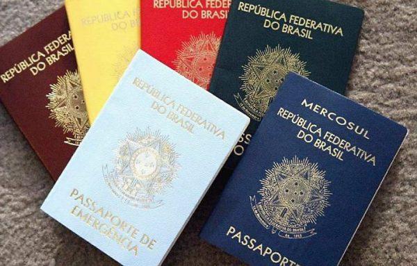 Novelty Brazilian Passports