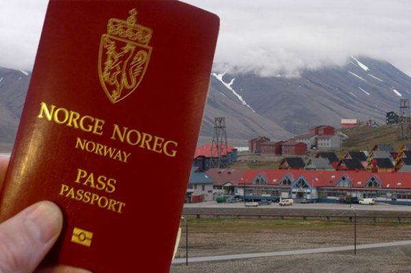 Norwegian Passport info