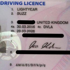 Buy License To Drive in United Kingdom
