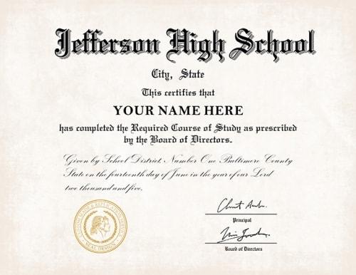 buy fake school certificates