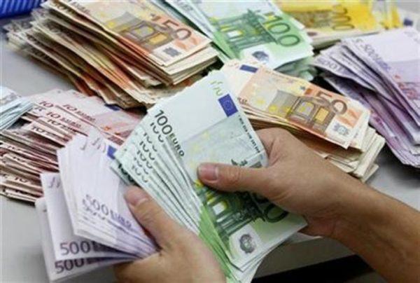 counterfeit euro bank notes