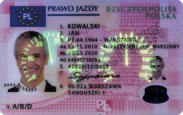 buy polish driving licence